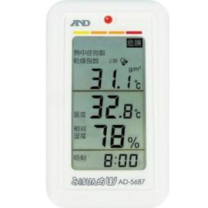 A&D  くらし環境温湿度計 AD-5687 (みはりん坊W)|osc-shop