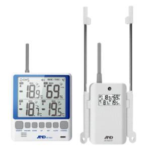 A&D ワイヤレスマルチチャンネル温湿度計 AD-5663|osc-shop