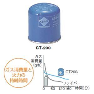 キャンピング ガスカートリッジ CT-200|osc-shop