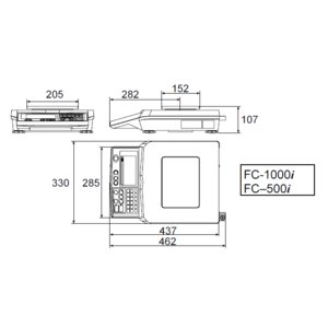 A&D カウンティングスケール FC-500i osc-shop