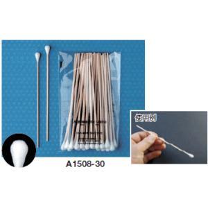 日本綿棒 綿棒 綿径約8.0mm・木軸 A1508-30|osc-shop