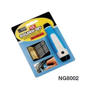 ノガ   ゴールデンセット  ( 面取り・バリ取り工具セット ) NG8002|osc-shop