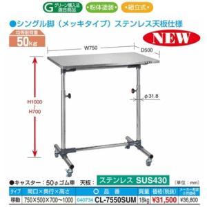 【代引不可】サカエ 軽量セルワーク作業台 CL-7550SUM|osc-shop