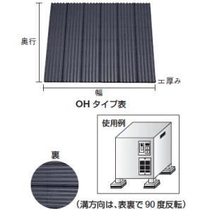 トラスコ  防振パット (シートタイプ) OH-10|osc-shop