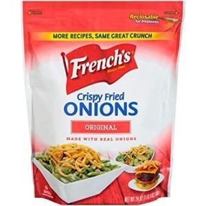 様々な料理にかけるだけ! 簡単にアレンジができるFrench'sのクリスピーフライドオニオンです。 ...
