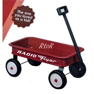 RADIOFLYER 【MY 1st WAGON】 #W9 マイファーストワゴン THE ORIGINAL LITTLE RED WAGON ラジオフライヤー/コストコ限定ロゴ