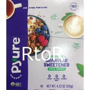 Pyure オーガニックステビアスイートナー Organic Stevia Sweetener 1g...