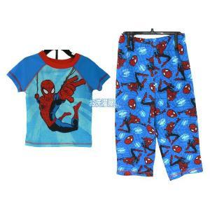 メール便無料♪ Disney/Marvel 「スパイダーマン/SPIDER-MAN」 半袖パジャマ2ピースセット  ディズニー/マーベル|osentaku