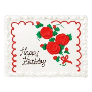 Costco コストコ「ハーフシートケーキ ホワイトorチョコ」48人分のお誕生日ケーキ 選べるデザイン/パーティ/オーダーケーキ「代金引換不可/クール冷凍便のみ」|osentaku|08
