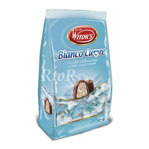 WITOR'S ウィターズ Bianco Cuore プラリネ チョコレート 1kg