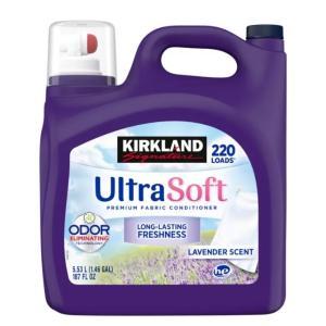 KS カークランド 液体柔軟剤 「ラベンダーエスケープ」 5.53L 濃縮タイプ220回分 大容量 ...