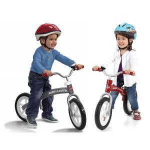 【訳あり/パッケージダメージあり】ラジオフライヤー【GLIDE&GO キックバイク】#800Aレッド/#802Aグレー 足けりバイク 自転車の練習に♪