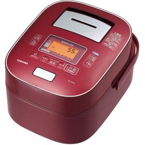 東芝 真空圧力IH RC-10VXL(RS) ディープレッド[炊飯器/5.5合][送料無料] [kdn]|osharecafe
