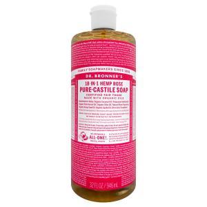 ドクターブロナー マジックソープ ローズ 944ml(TN202-1)|osharecafe