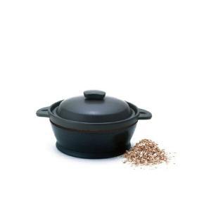 【保温燻製器 イージースモーカー/RPDシリーズ RPD-13】  セラミックス鍋の中でスモークを炊...