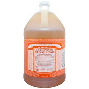 ドクターブロナー マジックソープ ティーツリー 3776ml [ボディソープ]※同梱不可 [1ガロン(3.8L)サイズ](TN204-1)|osharecafe