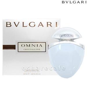 ブルガリ BVLGARI オムニアクリスタリンジュエルチャームEDT 25ml[香水](TN011-1)|osharecafe