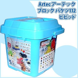 Artec アーテックブロック バケツ112 ビビッド (基本色)[076538]アーテック基本セット [知育玩具][145]|osharecafe