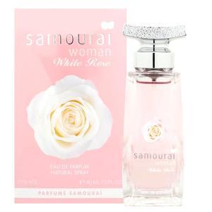 アランドロン サムライウーマン ホワイトローズ EDP 40ml オードパルファム 香水(TN023-1) osharecafe