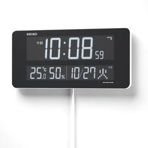 セイコークロック DL208W デジタル時計 [電波クロック/DL208W/SEIKO][送料無料](TNH304)|osharecafe|02