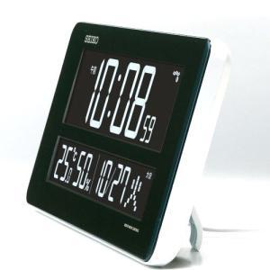 セイコークロック DL208W デジタル時計 [電波クロック/DL208W/SEIKO][送料無料](TNH304)|osharecafe|03