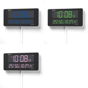 セイコークロック DL208W デジタル時計 [電波クロック/DL208W/SEIKO][送料無料](TNH304)|osharecafe|05