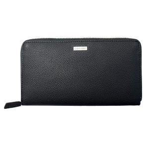 カルバンクライン ラウンドファスナー長財布 79441 BK Pebble Zip Around Wallet [Calvin Klein][メンズ/ウォレット/SLG][送料無料] osharecafe