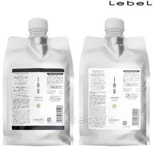 [セット]ルベル LebeL イオセラム詰替1000ml×2セット(クレンジング+クリーム)[送料無料]|osharecafe