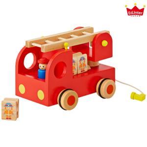 エド・インター カタカタ 森の消防隊[3歳〜][Ed.Inter/エドインター/木のおもちゃ][送料無料](TN305-3)|osharecafe
