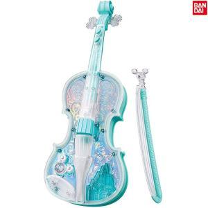 ディズニー ライト&オーケストラバイオリン ブルー[3歳〜][バンダイ/BANDAI/ドリームレッスン/演奏/電子玩具/楽器][送料無料]|osharecafe