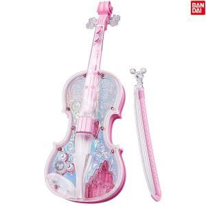 ディズニー ライト&オーケストラバイオリン ピンク[3歳〜][バンダイ/BANDAI/ドリームレッスン/演奏/電子玩具/楽器][送料無料]|osharecafe