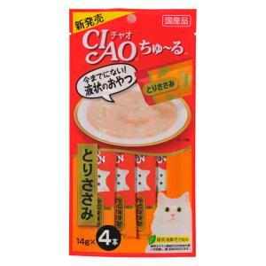 CIAO ちゅ~る とりささみ 14g×4本【KSPET】(wn1102)|osharecafe