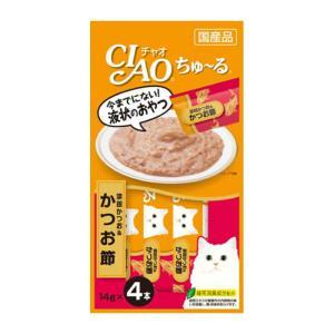 CIAO ちゅ~る 宗田かつお&かつお節 14g×4本【KSPET】(wn1102)|osharecafe