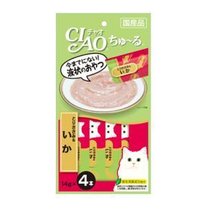CIAO ちゅ~る とりささみ&いか 14g×4本【KSPET】(wn1102)|osharecafe