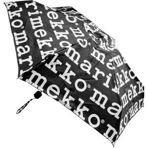 マリメッコ 折りたたみ傘 マリロゴ 041399 #910 ブラック[Marilogo][送料無料]...