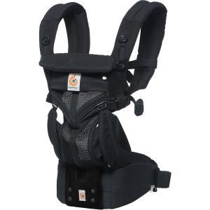 [正規品・2年間保証][ご購入特典付き]エルゴベビー OMNI360(オムニ スリーシックスティ) クールエア ブラック[抱っこ紐/ベビーウエストベルト][送料無料]|osharecafe
