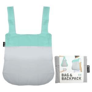 [メール便送料無料]notabag(ノットアバッグ) バッグ&バックパック 軽量 折りたたみリュック NTB002GR-MI|osharecafe