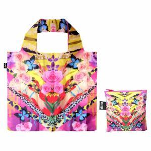 [メール便送料無料]LOQI(ローキー)  SHINPEI NAITO Flower Dream  SN.FD[エコバッグ/買い物袋/お買い物バッグ/絵] osharecafe