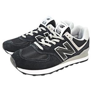 ニューバランス ML574 EGK Black ブラック JP26.0cm US8[NEW BALANCE][シューズ/靴/ランニングスタイル][送料無料]|osharecafe