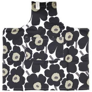 [メール便送料無料]マリメッコ エプロン 064161 #030(BLACK) marimekko apron (TKD)(TN317-2)|osharecafe