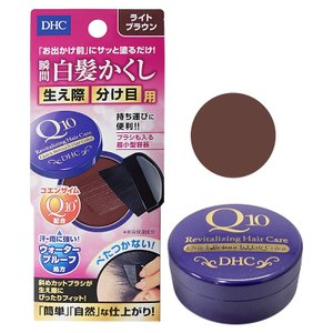 [メール便送料無料]DHC Q10クイック白髪かくし 4.5g ライトブラウン[毛髪着色料](TN0...