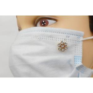 SHAREKI マスクピアス 可愛いマスクアクセサリー パールセッティングマシーンで1秒装着・10円のマスクアクセサリー「ポチット」 p-so-h-m|osharekizoku