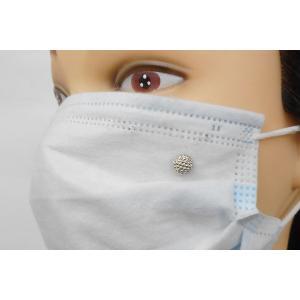 SHAREKI マスクピアス 可愛いマスクアクセサリー パールセッティングマシーンで1秒装着・10円のマスクアクセサリー「ポチット」 p-so-j-m|osharekizoku