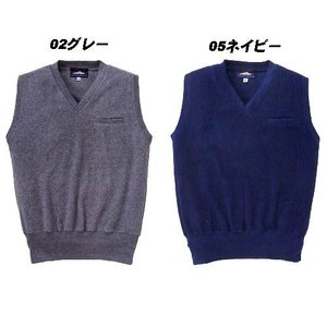 フリースインナーベスト M〜EL 胸ポケット付き...