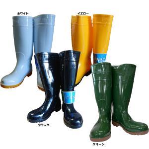 耐油安全長靴 抗菌・防臭・防滑仕様 24.5〜29cm ホワイト・ブラック・イエロー・グリーン|oshigotoichiba
