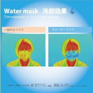 熱中症対策!ウォーターマスク さらさらメッシュ 2枚入り 水でヒンヤリ 洗える 布マスク 大人用 子供用 小さめ 日本製 夏用 呼吸がしやすい 父の日 オーシン|osin|05