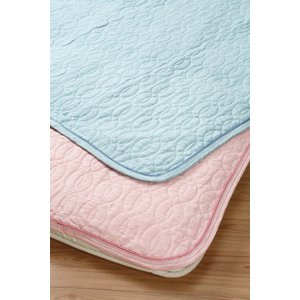 ロマンス小杉 敷きパッドS 100x205cm シングル 洗濯 洗える やわらか 柔らか|ossya