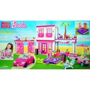 バービー人形 おもちゃ 着せ替え Mega Bloks Barbie Deluxe Fab Beac...