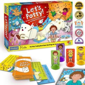 バービー人形 おもちゃ 着せ替え Let's Potty! Potty Training Board...