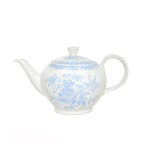 イギリス食器バーレイ社 ブルーアジアティックフェザンツ ティーポットS 400ml|ostuni